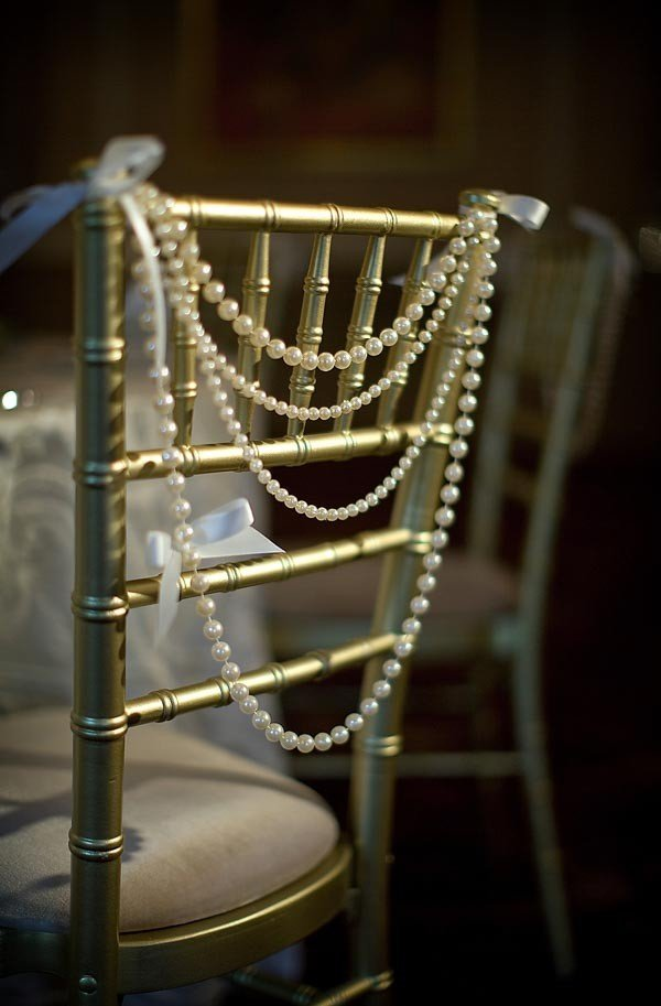 vintage wedding chair decoration ideas