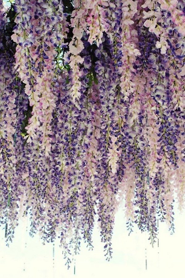 whimsical lavender wedding decoration ideas