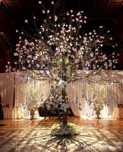 Enchanting Wishing Tree Decorations for Wedding Reception Ideas