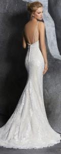Kendra lowback Morille wedding dress 2018