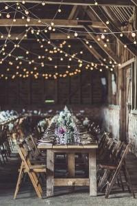 boho wedding decoration ideas with string lights