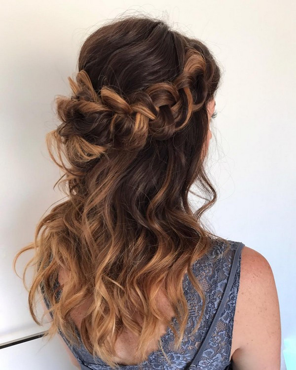 Half Up Half Down Braided Wedding Hairstyles: 10 Glamorous Half Up Half Down Wedding Hairstyles From