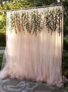 chic wedding backdrop ideas
