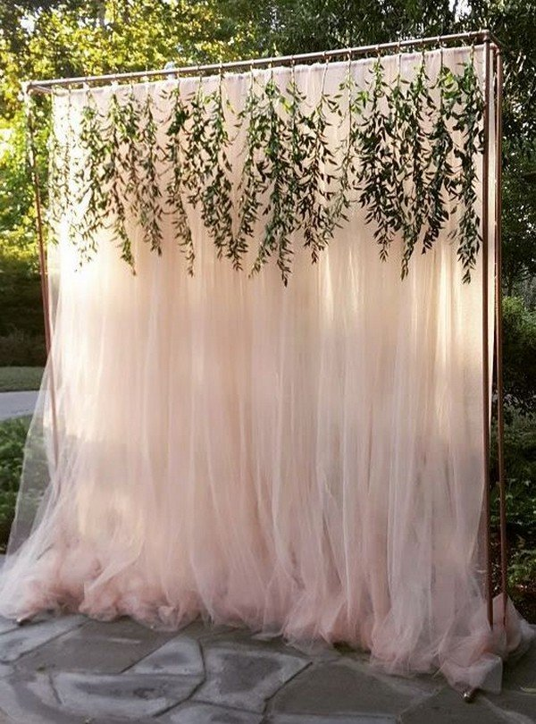 chic wedding backdrop ideas