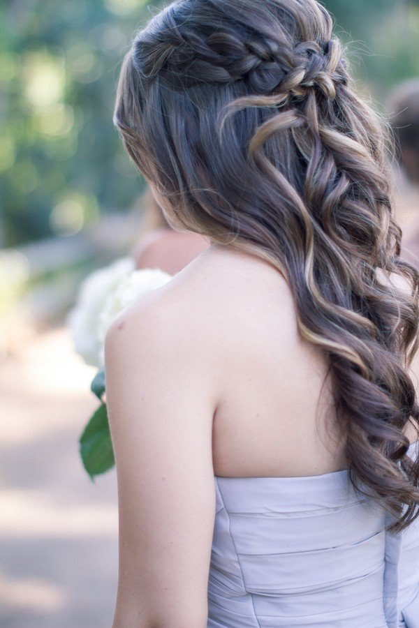 half up half hair styles 10 glamorous half up half wedding hairstyles from 3548