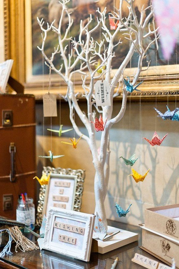 wedding wishing tree decorations