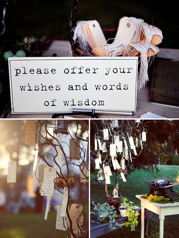 wedding wishing tree ideas