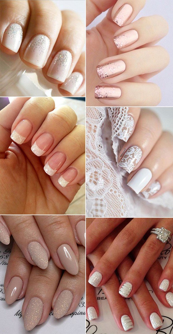 bridal nail design ideas for 2018