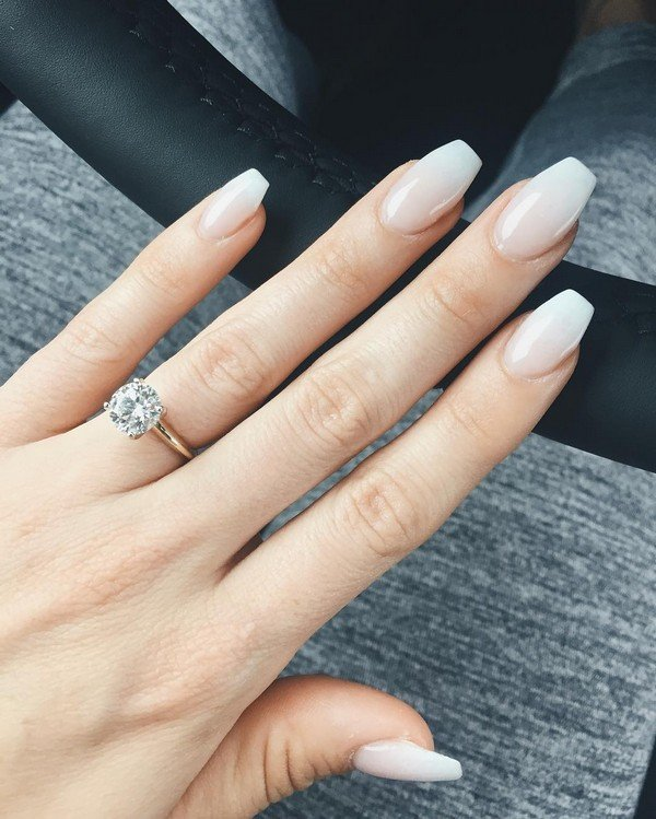 bridal nail designs for wedding day