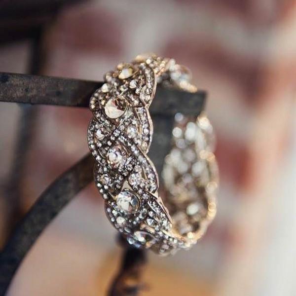 brilliant vintage wedding ring