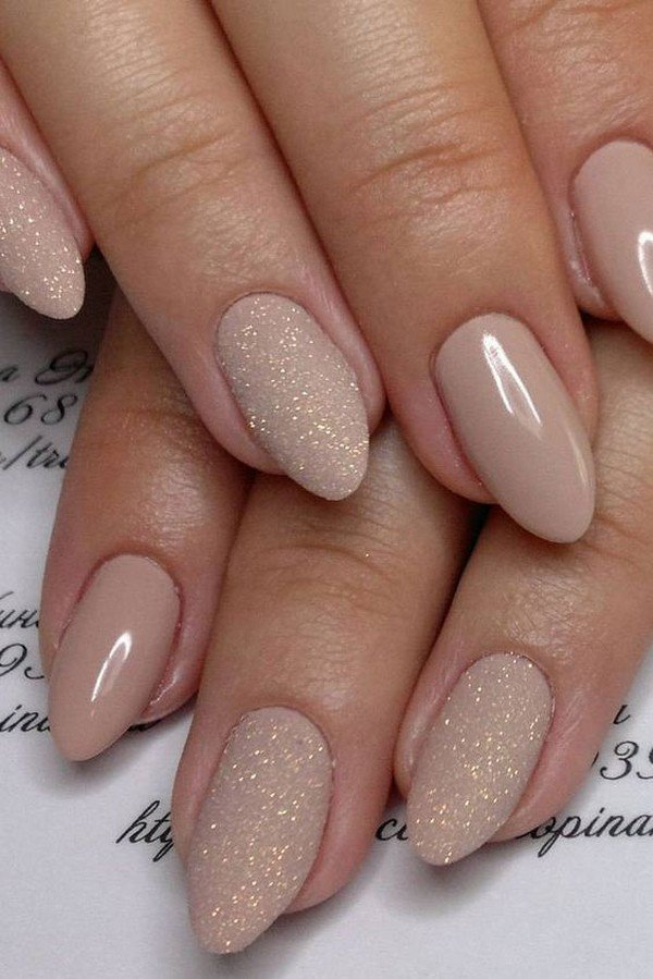 12 Perfect Bridal Nail Designs for Your Wedding Day - Oh Best Day Ever