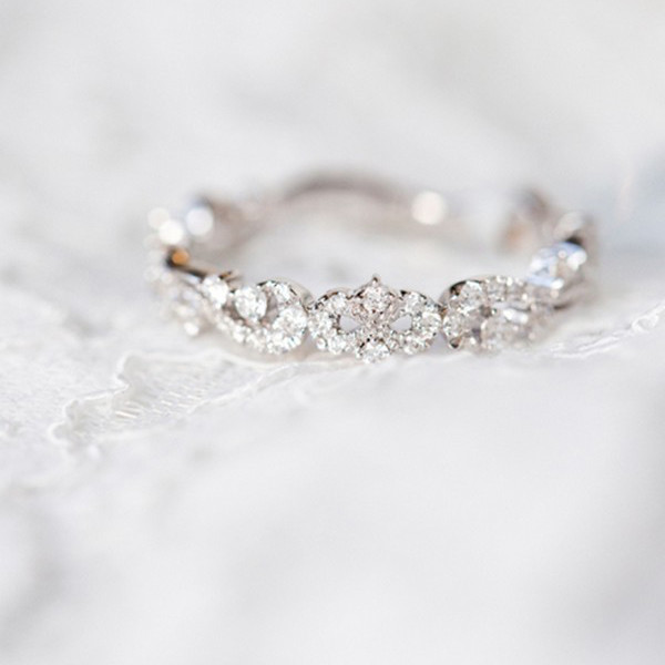 timeless diamond wedding engagement ring