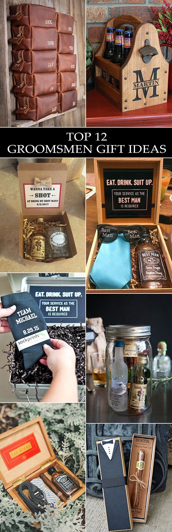 trending groomsmen gift ideas for 2018