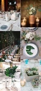 trending industrial wedding centerpiece ideas for 2018