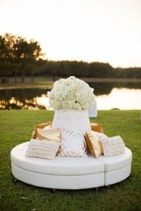 outdoor wedding reception lounge area ideas