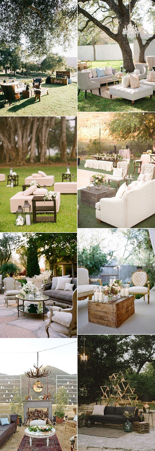 outdoor wedding reception lounge area ideas for 2018