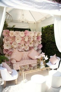 pink and gold wedding lounge area ideas