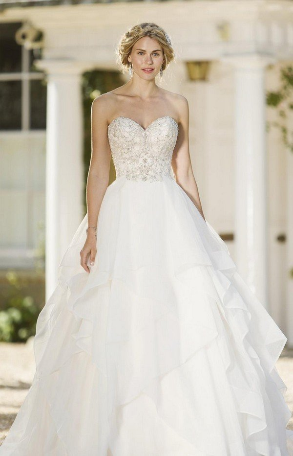 princess bridal ball gown from true bride W260