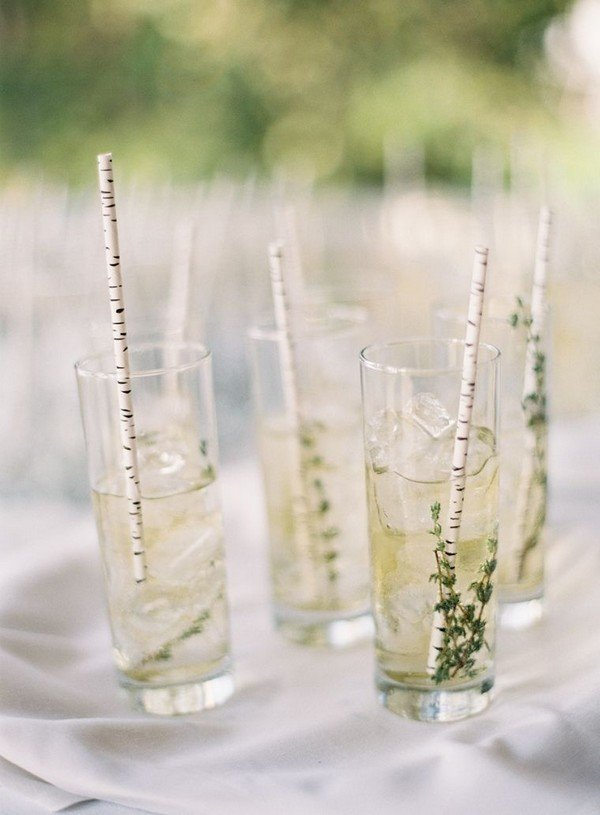simple wedding signature drink ideas