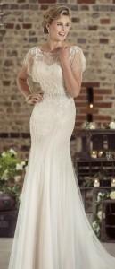 true bride vintage wedding dress W239