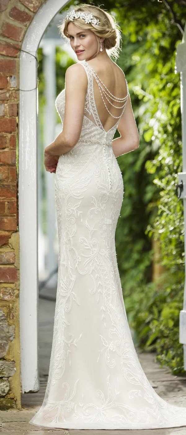 true bride W272 back view