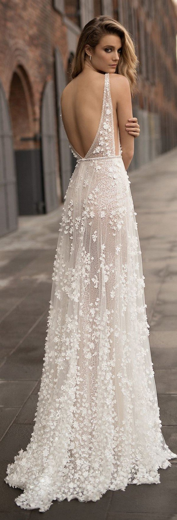 Berta Boho Wedding Dress 2018