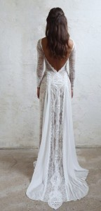 Grace Loves Lace wedding dress with low back