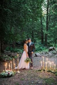 mossy glen elopement wedding inspiration