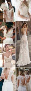 trending boho wedding dresses for 2018