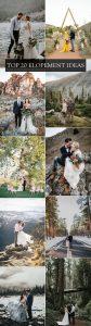 trending elopement ideas for intimate weddings