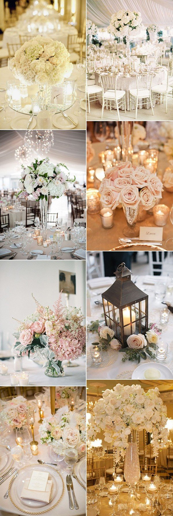 2018 trending elegant wedding centerpiece ideas