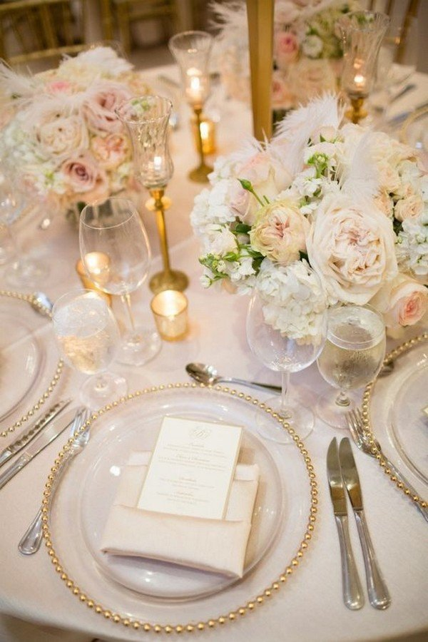 elegant floral wedding centerpiece for 2018