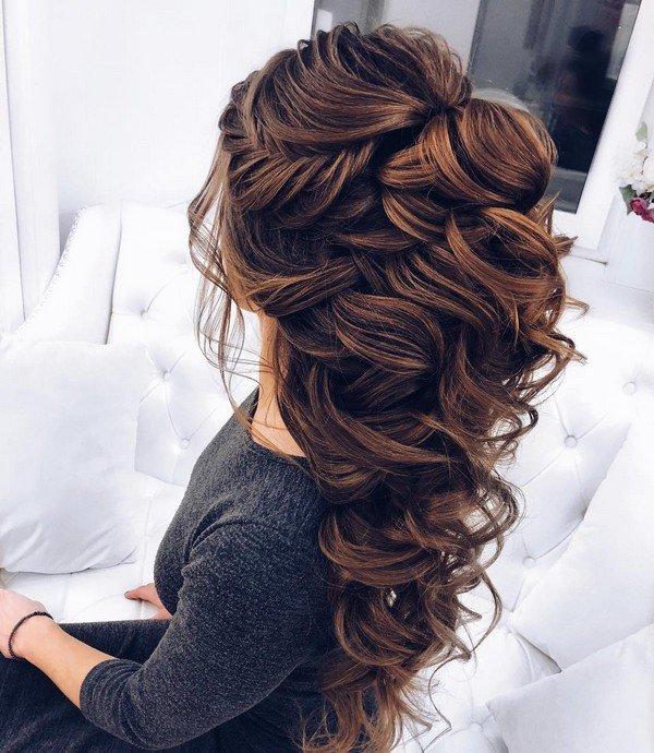 20 Perfect Half Up Half Down Hairstyles: 20 Inspiring Wedding Hairstyles From Steph On Instagram
