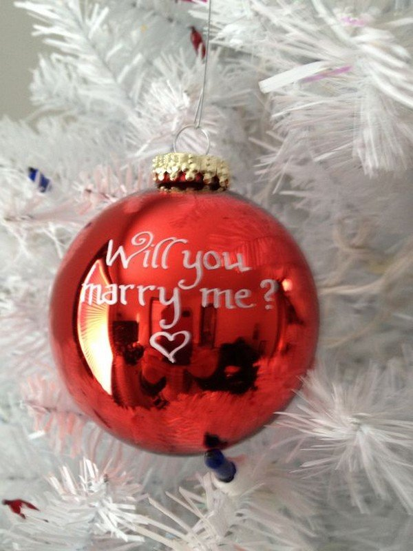 holiday proposal ideas
