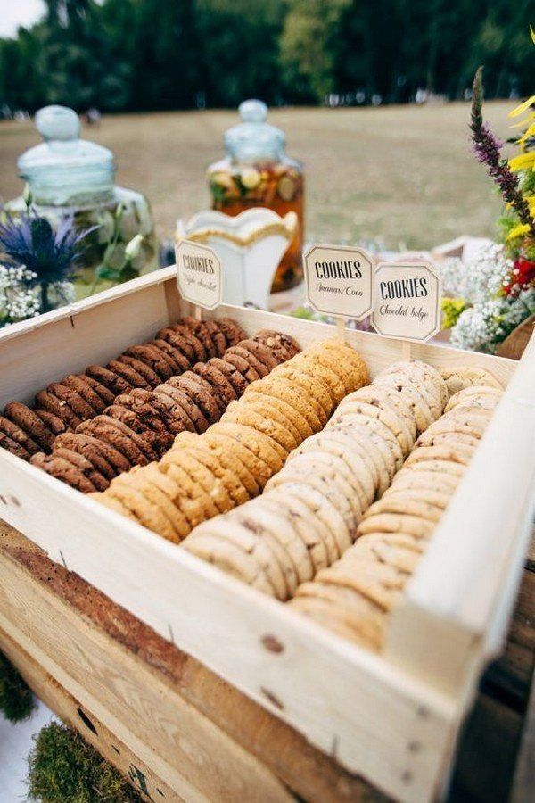 outdoor wedding reception bar ideas