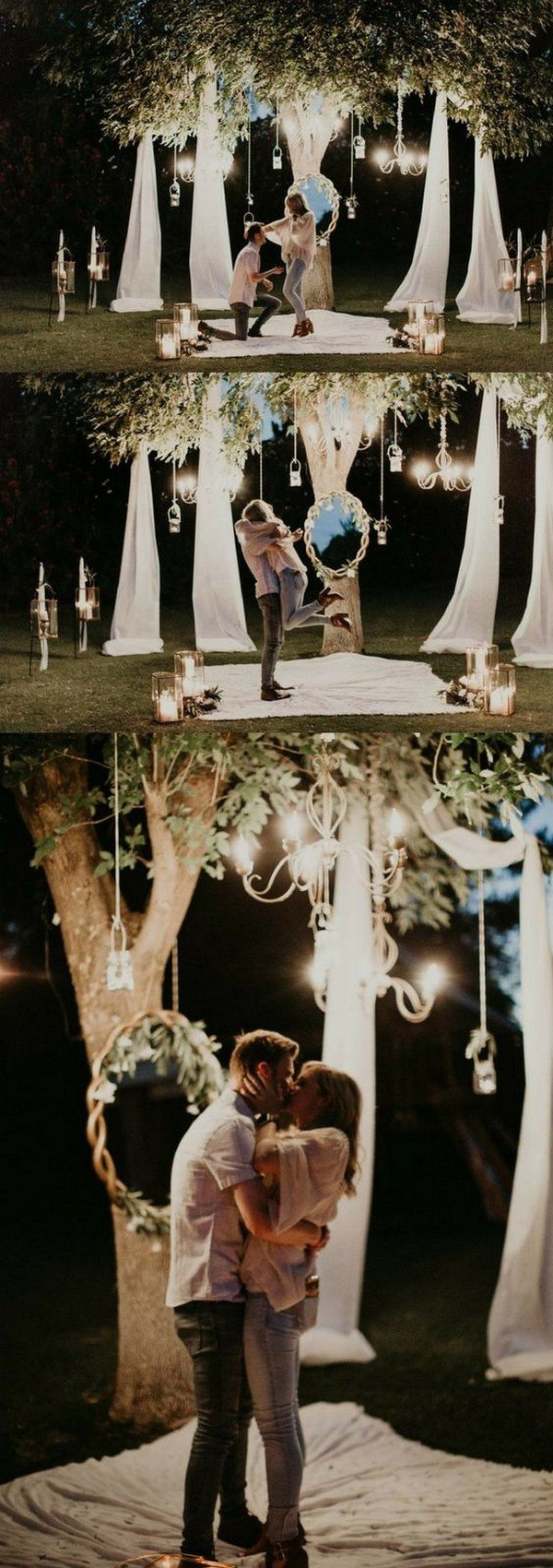 romantic outdoor proposal ideas