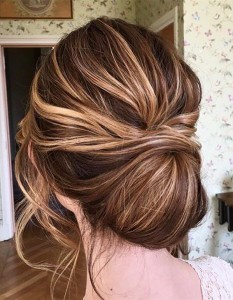 updo bridal hairstyle for your wedding day