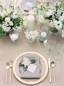 white and green elegant wedding centerpieces for 2018