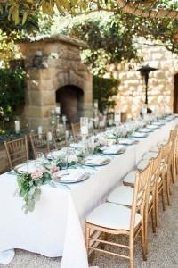chic rustic wedding reception ideas