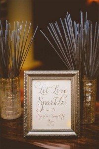 let love sparkle wedding ideas