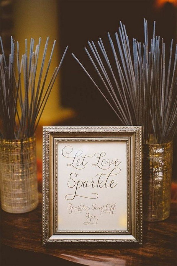 let love sparkle wedding ideas