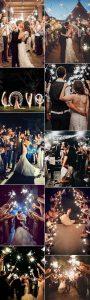 trending sparklers send off wedding photo ideas