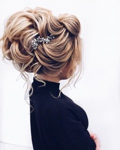 updo wedding hairstyle from elstile
