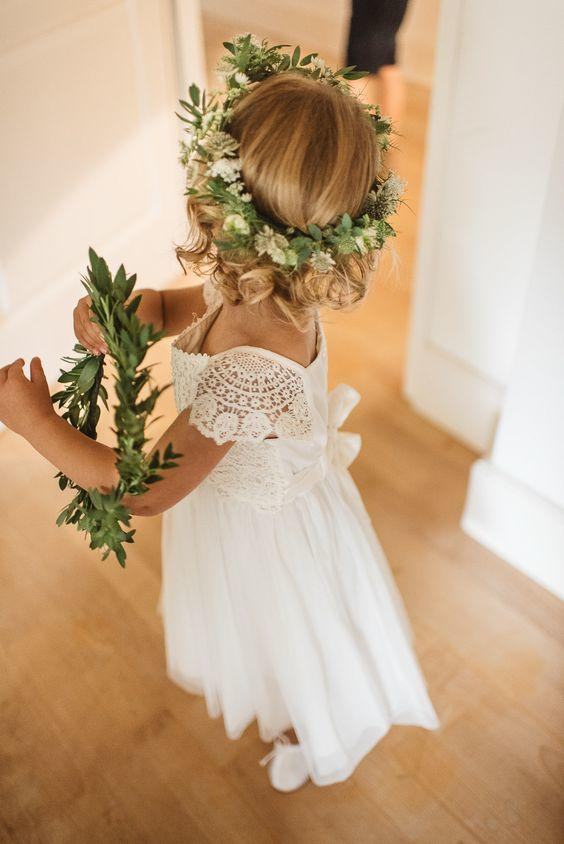 adorable lace flower girl dress
