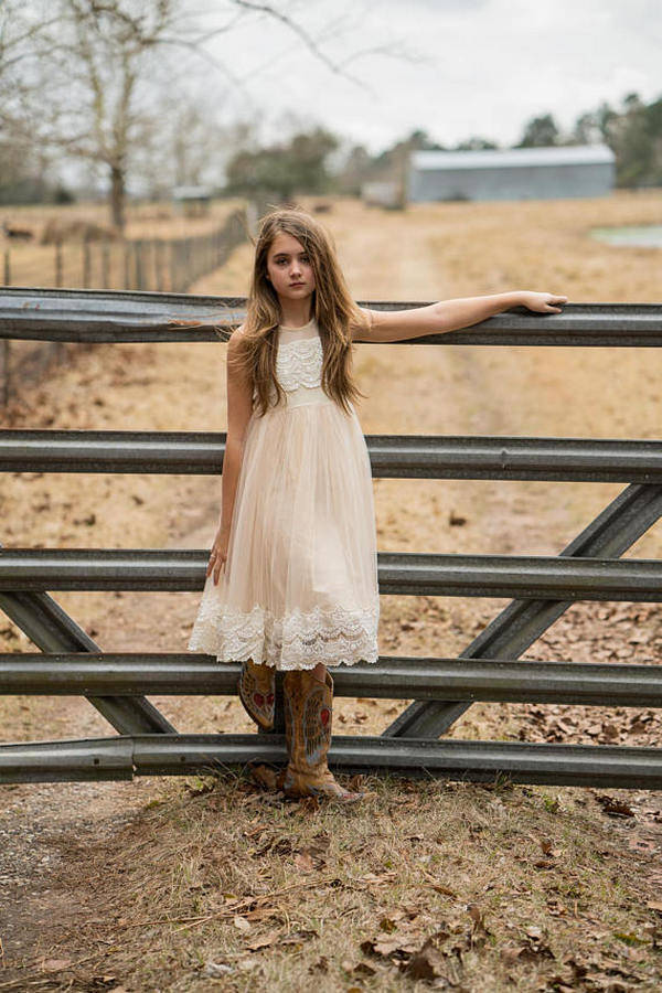 flower girl dresses for country weddings