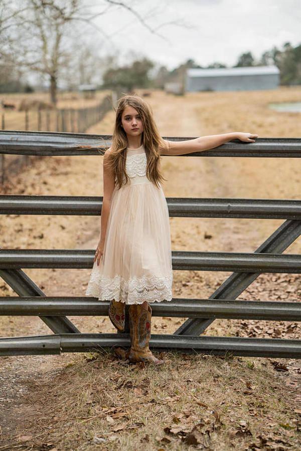 flower girl dresses for country weddings