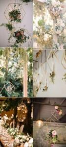 geometric hanging decoration ideas