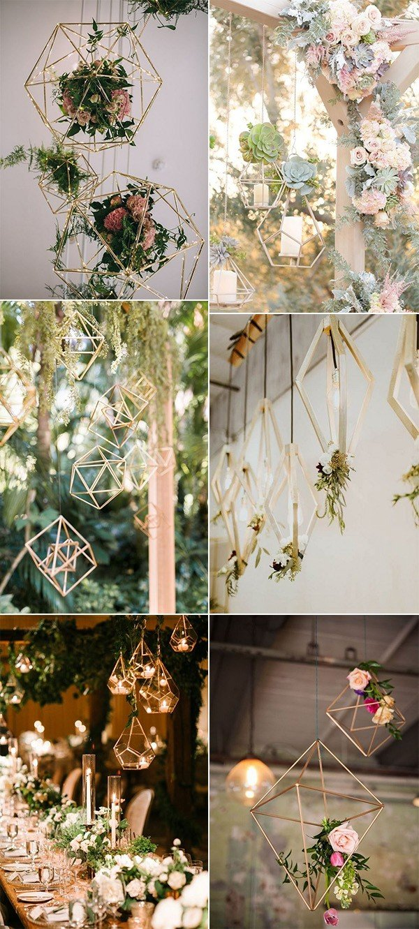 geometric hanging decoration ideas