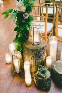 geometric lanterns wedding decoration ideas