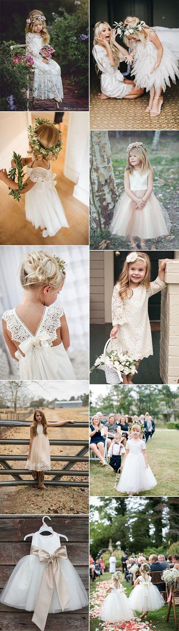trending cutest flower girl dresses